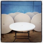1.2mt round table